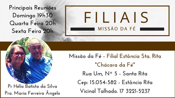 Filial Estância Santa Rita - São José do Rio Preto/SP