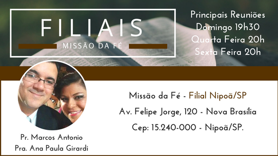 Filial Nipoã/SP