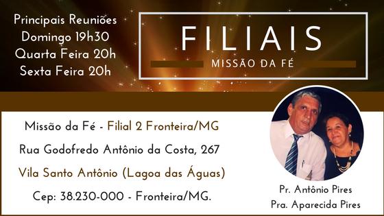 Filial Vila Santo Antônio - Fronteira/MG