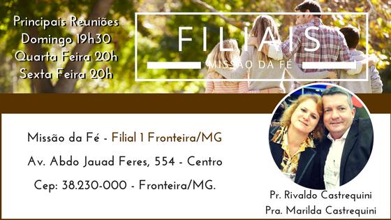 Filial Fronteira/MG
