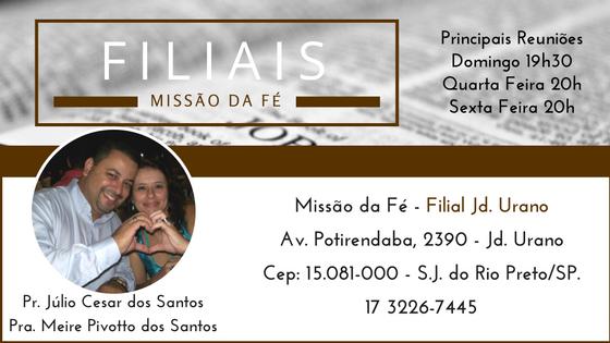 Filial Jd. Urano - São José do Rio Preto/SP