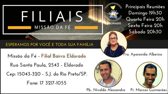 Filial Eldorado - São José do Rio Preto/SP