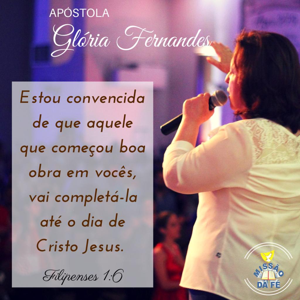 Ap. Gloria Fernandes - Frases e Versos Inspiradores