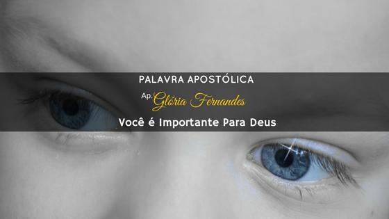 Você é Importante: Você é Importante Pra Deus